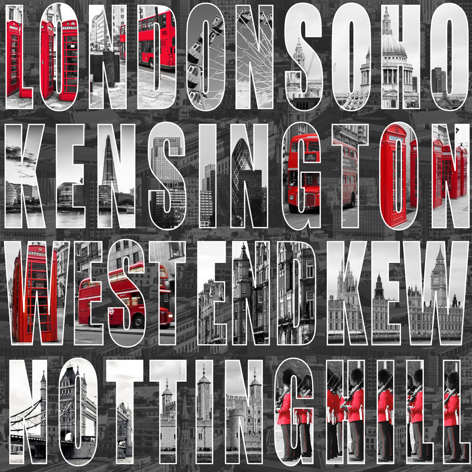City wallpaper letters from london murivamuriva