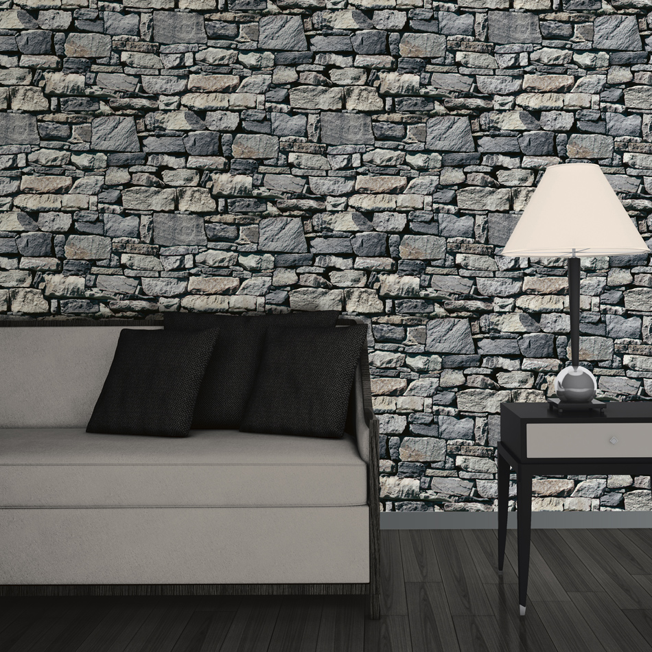 Mural wallpaper dry stone wall murivamuriva 1 amipublicfo Images