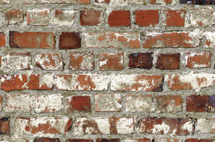 Mural wallpaper dry stone wall murivamuriva for Distressed brick wall mural