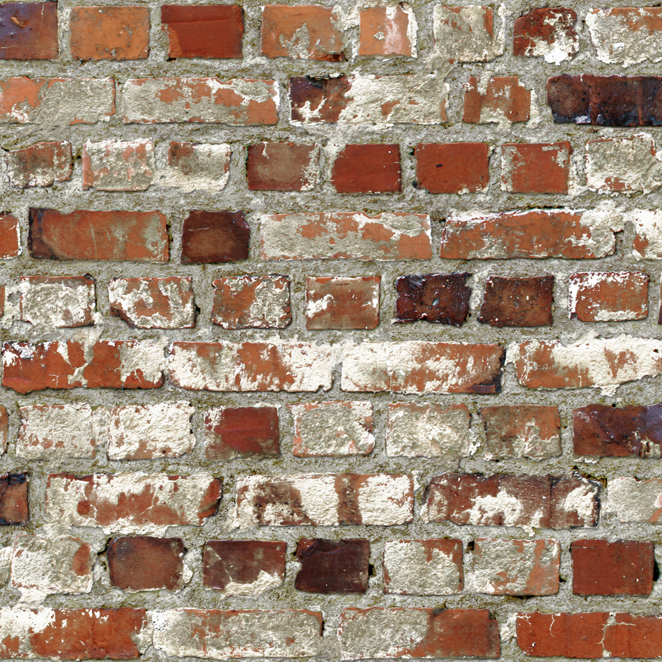 Mural Wallpaper Loft Brick Muriva 102540 - Behang Oude Muur