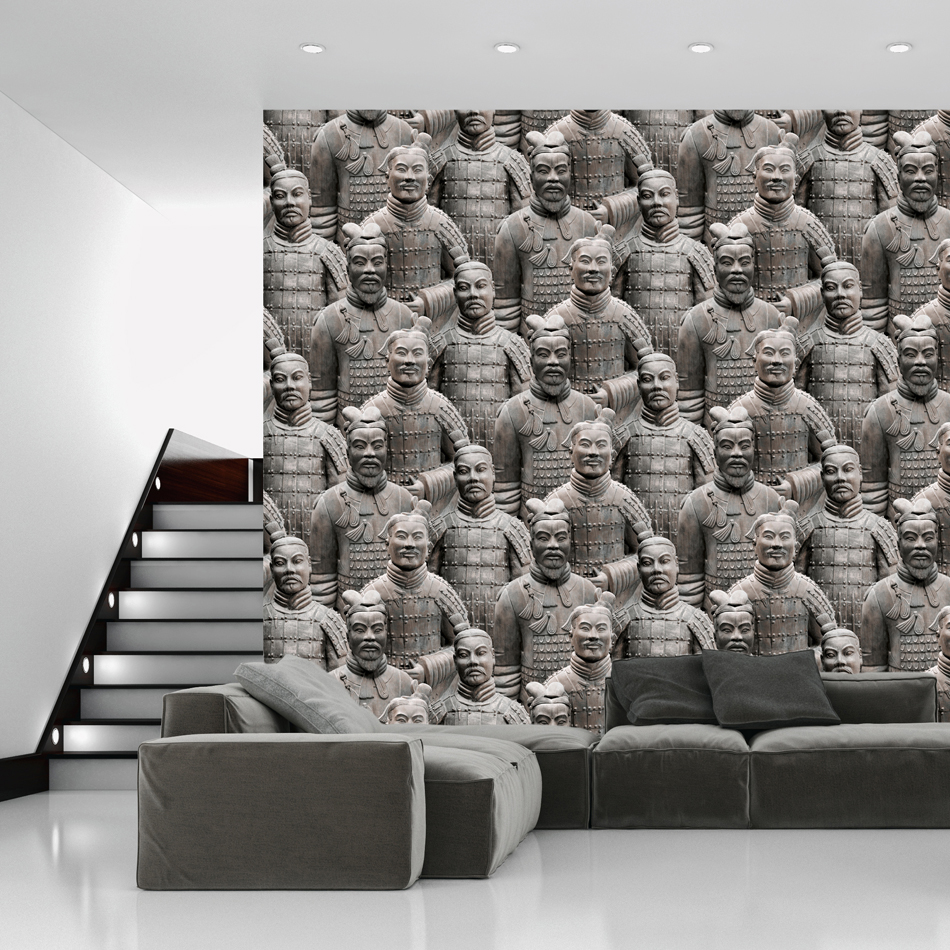 Mural wallpaper terracotta army murivamuriva for Army wallpaper mural