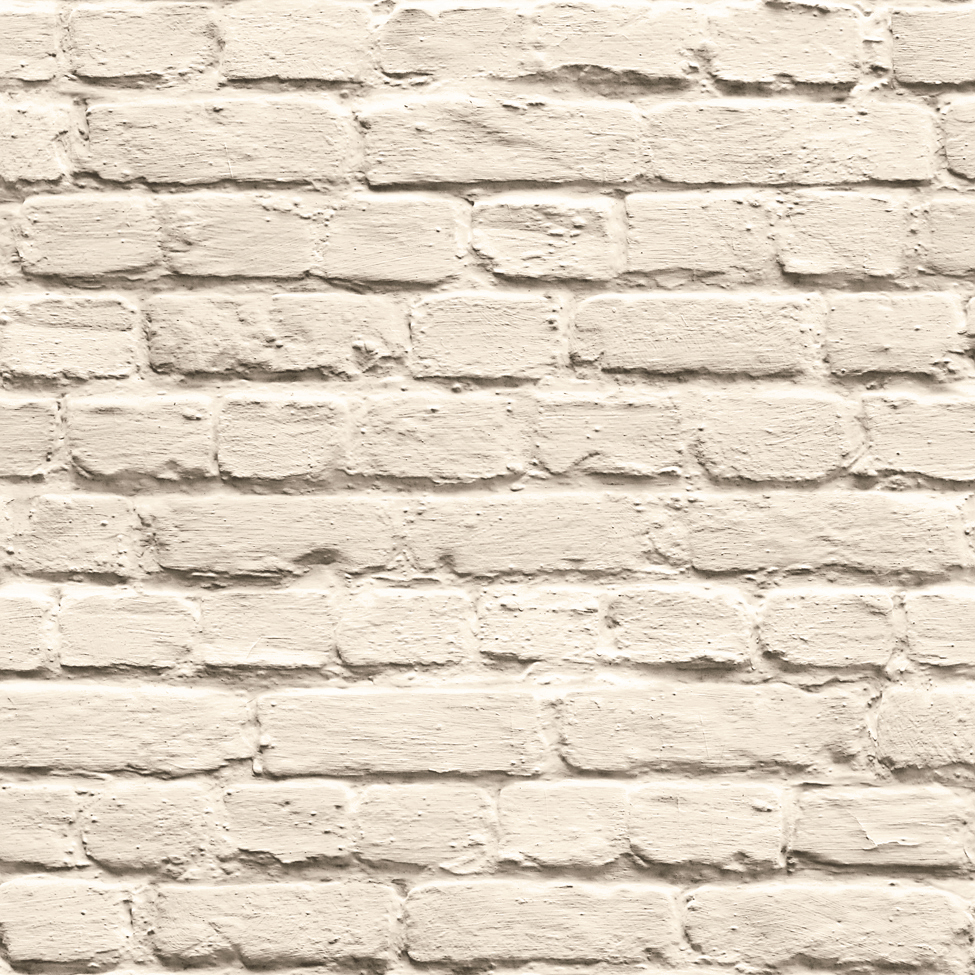 Mural wallpaper painted brick muriva j665 murivamuriva for Brick wall mural