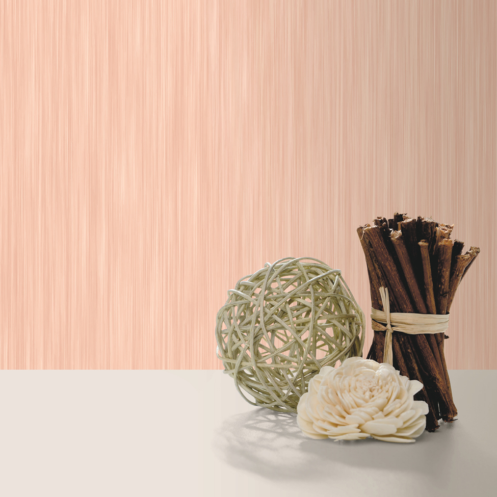 Textured Wallpaper Hera Light Coral Muriva J91005 Roomshot