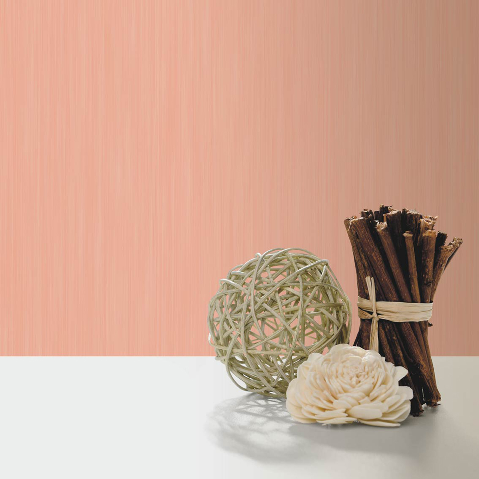 Textured Wallpaper Hera Coral Muriva J91013 Roomshot