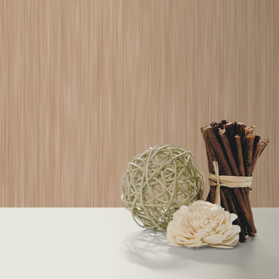 Textured Wallpaper Hera Light Brown Muriva J91038 Roomshot