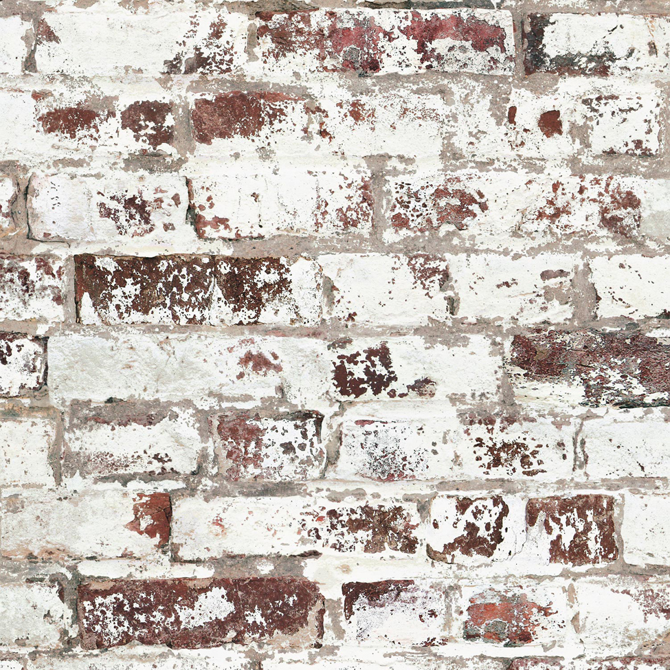 Mural wallpaper factory brick muriva j98508 murivamuriva for Brick mural wallpaper