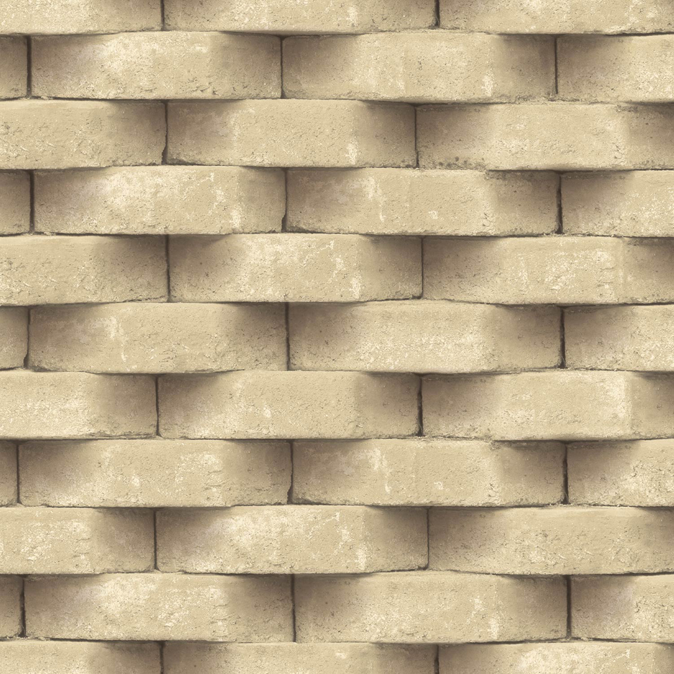 Mural wallpaper diagon brick muriva l571 murivamuriva for Brick mural wallpaper