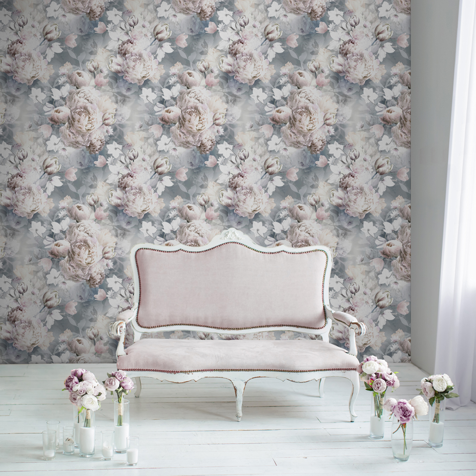 Lipsy Wallpaper Ava Floral Roomshot 01