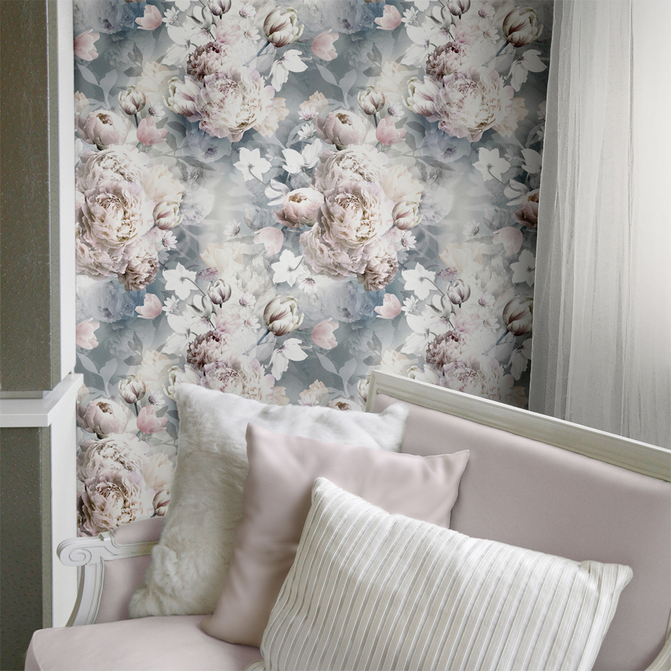 Lipsy Wallpaper Ava Floral Roomshot 02