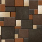 Design Wallpaper Leather Tiles Koziel Bluff Muriva_F95708_WP
