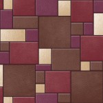 Design Wallpaper Leather Tiles Koziel Bluff Muriva_F95710_WP
