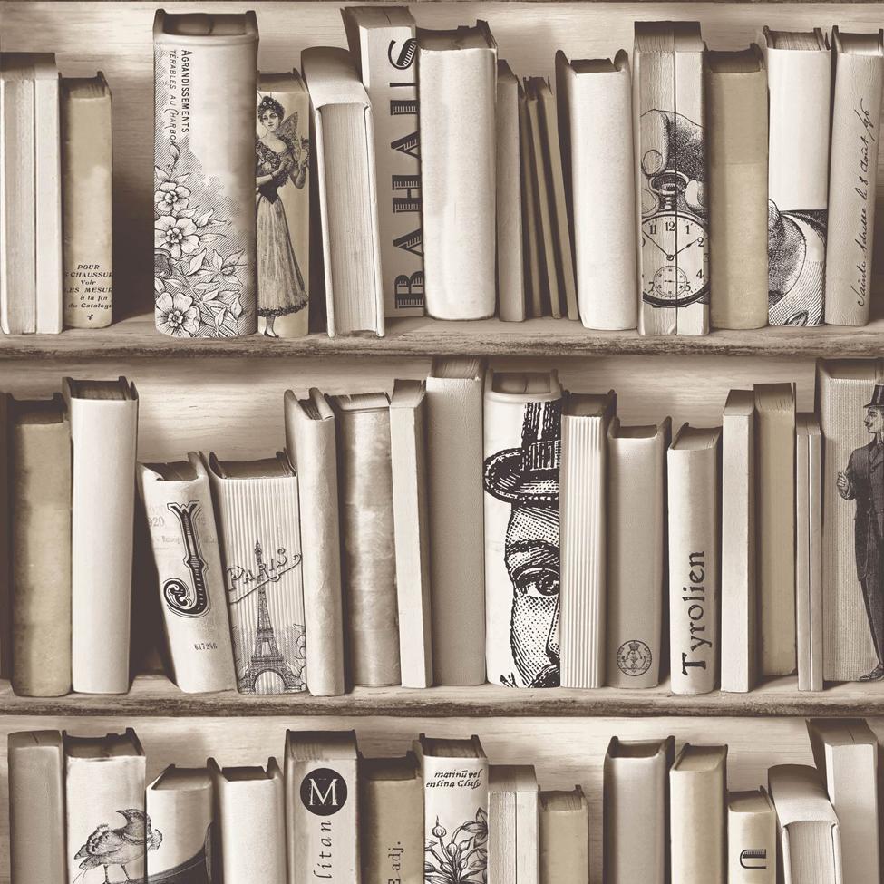 Mural Wallpaper Books Encyclopedia