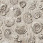 Mural Wallpaper Fossils