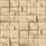 Mural Wallpaper; Modern Wallpaper; Wood; Wall; Blocks