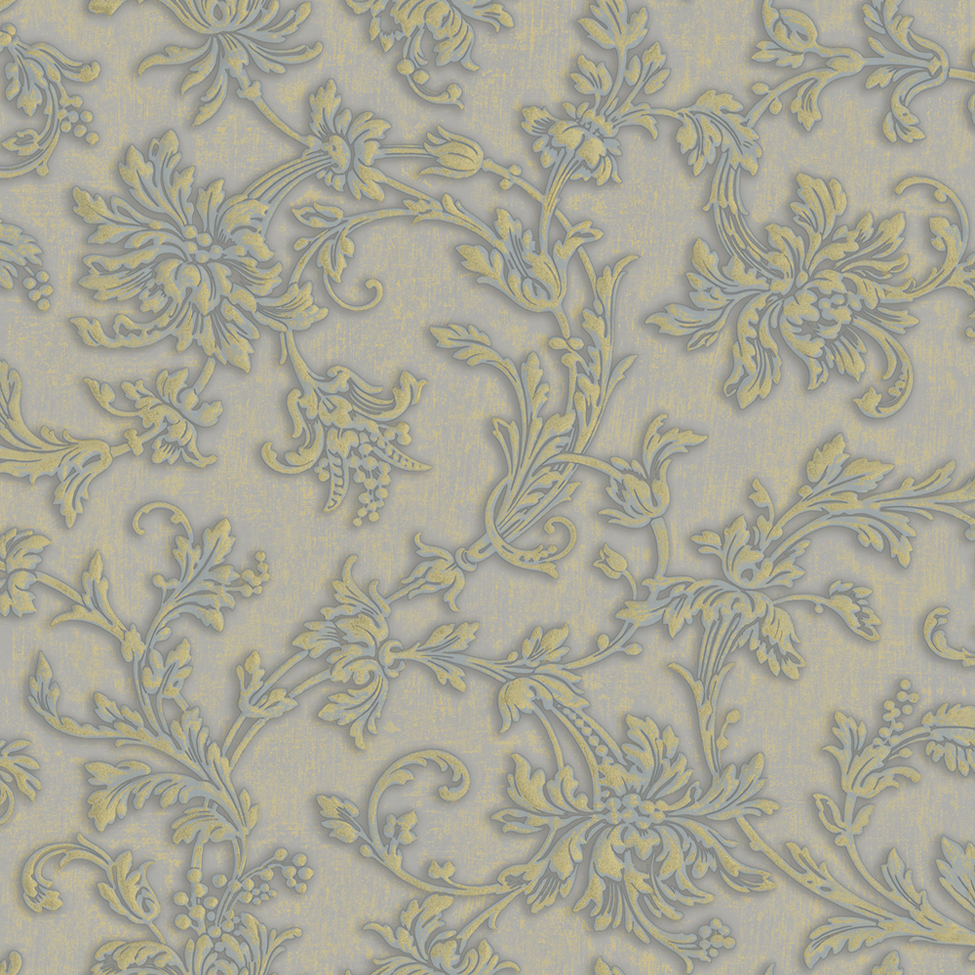 Classic Wallpaper Catherine Floral 1840 Muriva