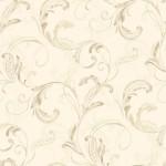 Classic Wallpaper Crete Scroll Creme Muriva J83607