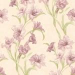 Floral Wallpaper Wild Iris Purple Muriva J83806