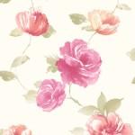 Floral Wallpaper Vintage Rose Pink Muriva J84503