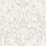 Classic Wallpaper Grecian Scroll White Muriva J85200