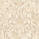 Classic Wallpaper Grecian Scroll Gold Muriva J85207
