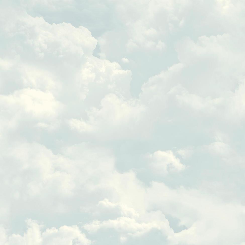 Modern Wallpaper Clouds Blue Muriva L13101