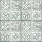 Modern Wallpaper Celtic Tiles Grey Muriva L14304