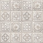 Modern Wallpaper Celtic Tiles Cream Muriva L14307
