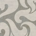 Classic Wallpaper Rae Scroll Taupe & Silver Muriva 53139