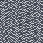 Classic Wallpaper Precious Silks Art Deco Silver and Blue Muriva 601535