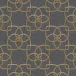 Classic Wallpaper Precious Silks Marrakech Warm Gold and Grey Muriva 601537