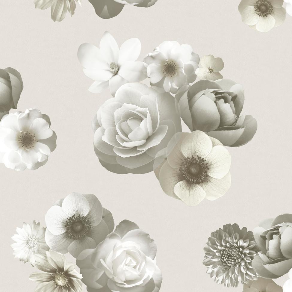 Floral Wallpaper Aurora Ivory Muriva 142501