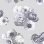 Floral Wallpaper Aurora Lilac Muriva 142502
