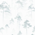 Modern Wallpaper Sherwood Duck Egg Muriva 143502
