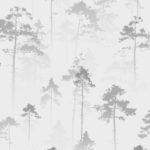 Modern Wallpaper Sherwood Silver Muriva 143503