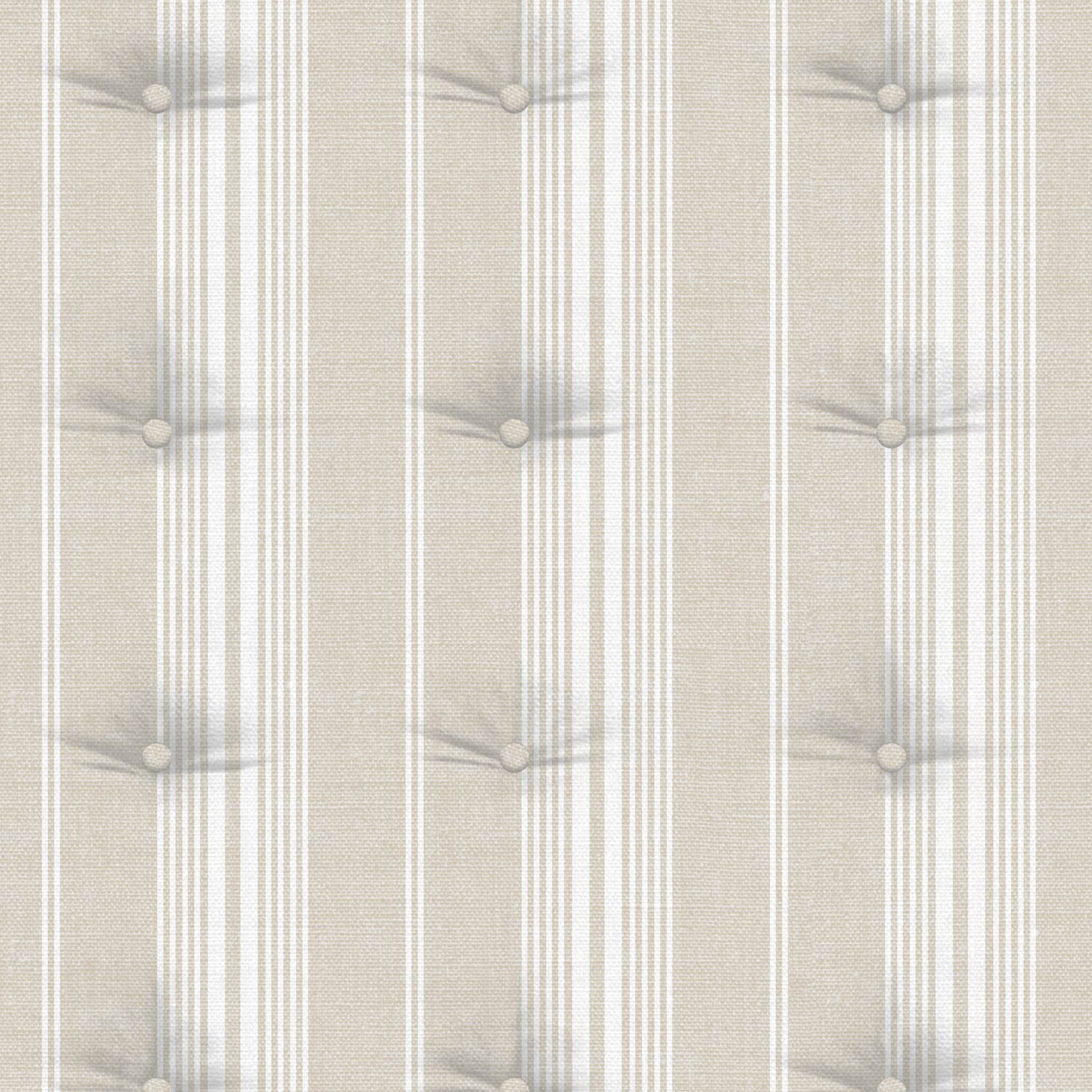 Modern Wallpaper Striped Cushion Beige Muriva 573607 WP