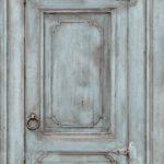 Modern Wallpaper Rustic Cupboard Teal Muriva L11711 WP