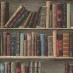 Modern Wallpaper Classic Library Multi Muriva L32008 WP