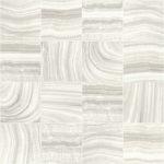 Modern Wallpaper Mineral Tiles Ivory Muriva L32807 WP