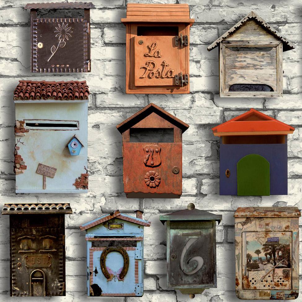 Modern Walpaper Postbox Muriva L35001 WP