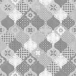 Modern Wallpaper Patterned Tiles Grey Muriva L40409 WP