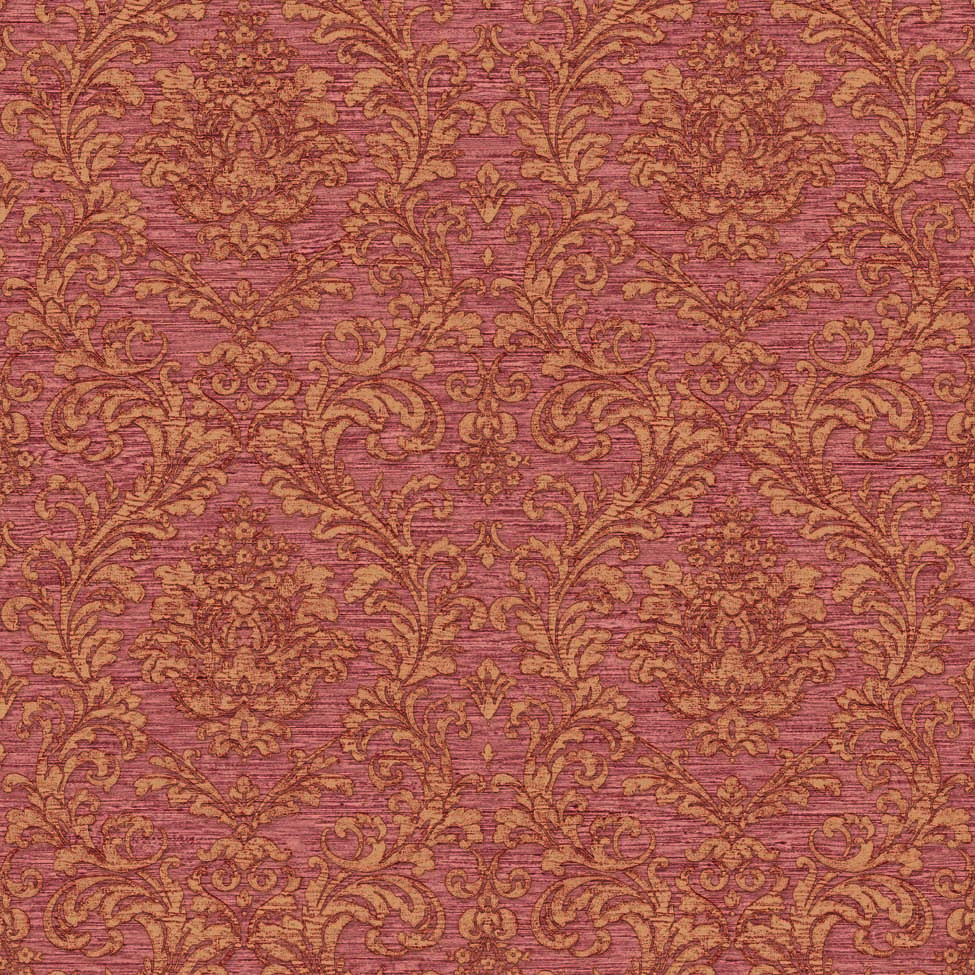 Classic Wallpaper Elena Damask Bronze Muriva 21800