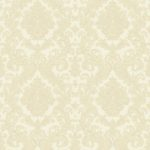 Classic Wallpaper Elena Damask Cream Muriva 21803