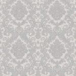 Classic Wallpaper Elena Damask Silver Muriva 21804