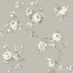 Floral Wallpaper Elena Floral Taupe Muriva 21861