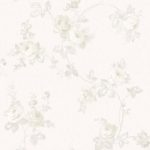 Floral Wallpaper Elena Floral Ivory Muriva 21863
