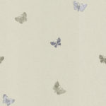 Modern Wallpaper Amelia Butterfly Gold Muriva 701423