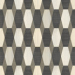 Modern Wallpaper Nerva Geo Cream Muriva L20307