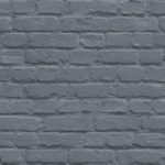 Mural Wallpaper Painted Brick Blue Muriva L22601