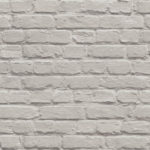 Mural Wallpaper Painted Brick Taupe Muriva L22607
