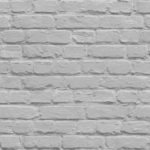 Mural Wallpaper Painted Brick Grey Muriva L22619